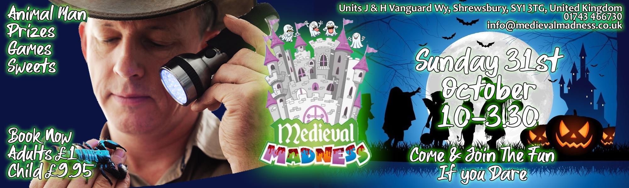 Medival Madness 1st Birthday