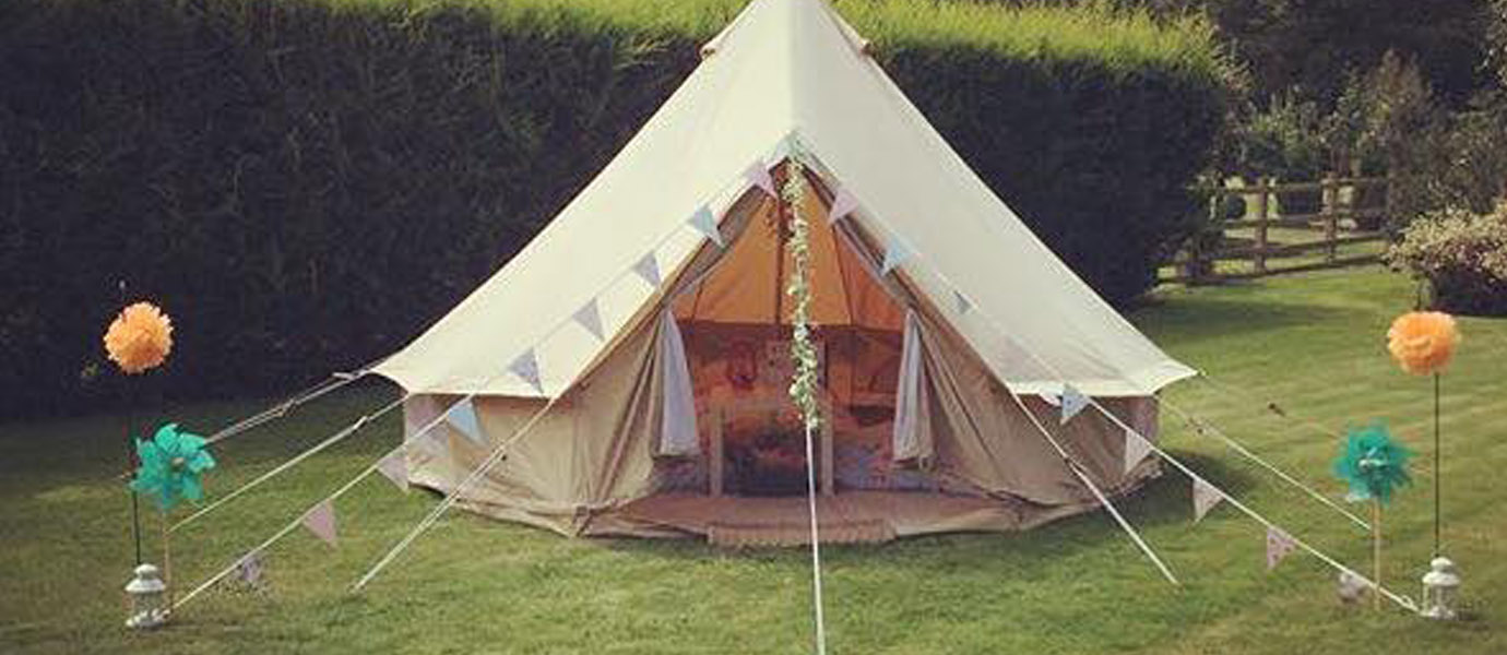 Hi! We are the new little sister company to 'The Enchanted Little Bell Tent Company'.