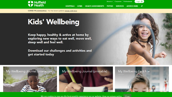 Improving Kids' Wellbeing at Home