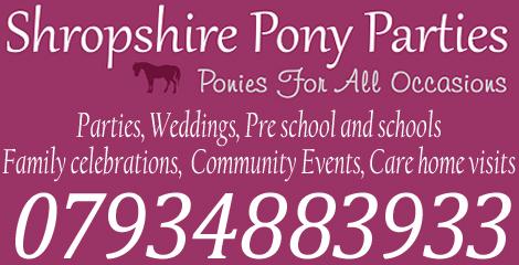 Shropshire Pony Parties