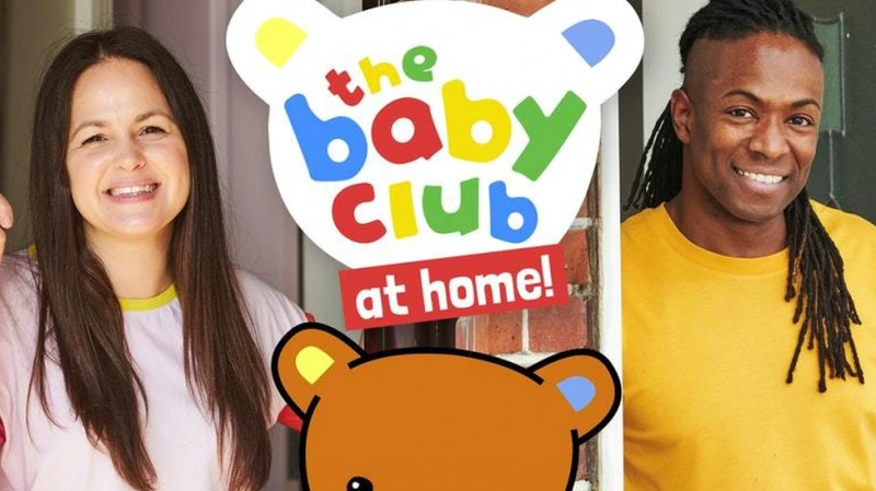 Giovanna Fletcher and Nigel Clarke to host the Baby Show at Home on CBeebies
