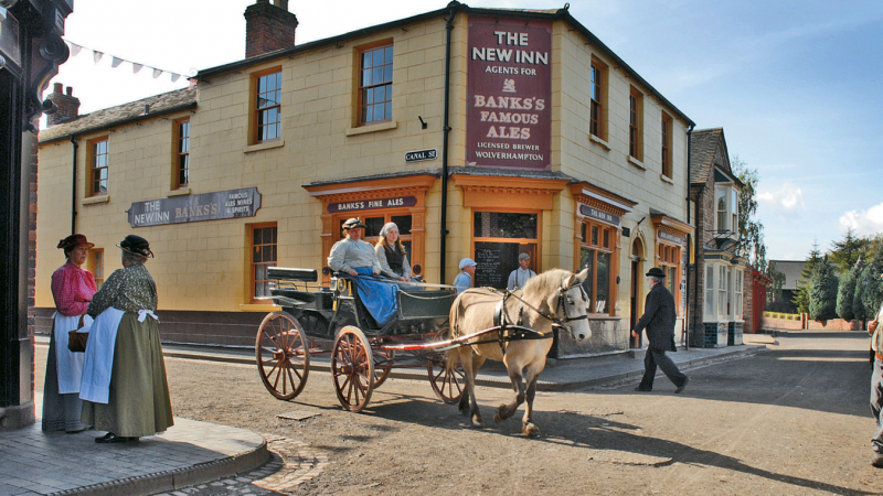 Full steam ahead at Blists Hill Victorian Town as it reopens doors to visitors