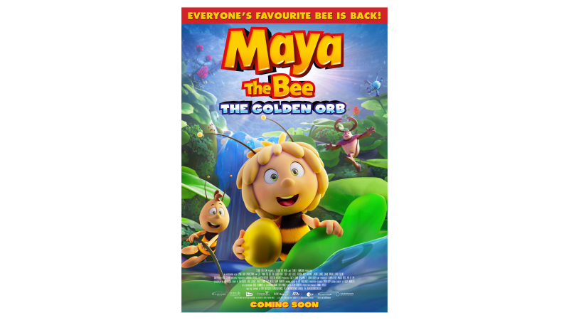 Maya The Bee - The Golden Orb