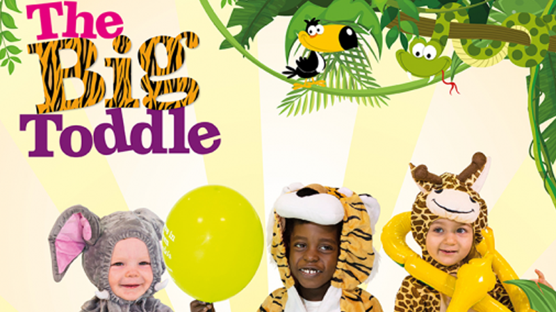 The roar-some, safari-themed adventure is back as Barnardo's Big Toddle Week returns for 2021