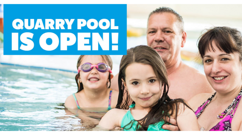 Shropshire's largest pool is back with expanded aquatics programme